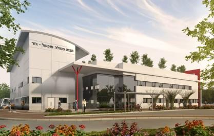 חברת חשמל מבנה מנהלה – תחנת הכח גזר