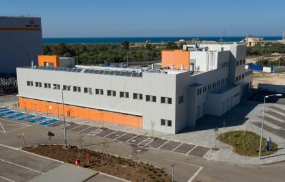חברת חשמל מבנה רב תכליתי – מרלוג עכו